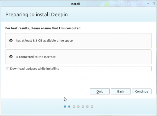 Linux Deepin 12.12 review Install requirements