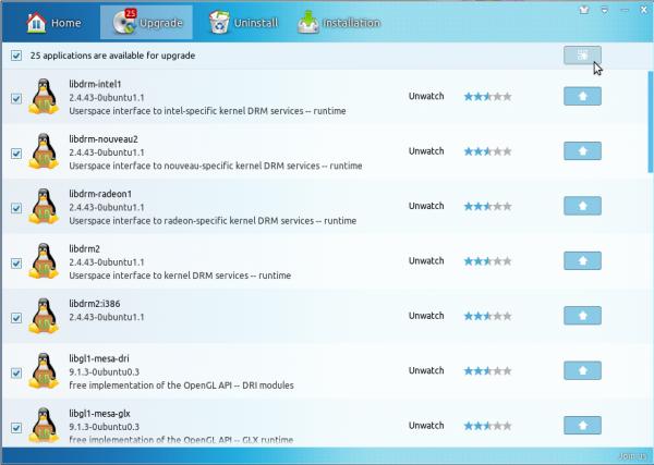 Linux Deepin 12.12 review Software Center updates