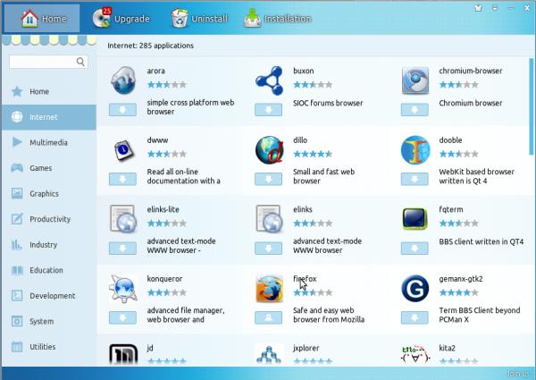 Linux Deepin 12.12 review Software Center apps