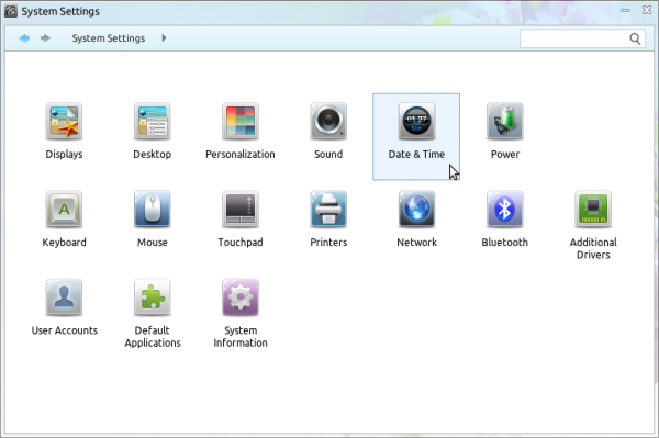 Linux Deepin 12.12 review system Settings
