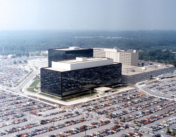 Headquarters of a spy agency