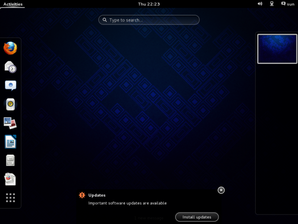 Fedora 19 review GNOME 3 GNOME Shell