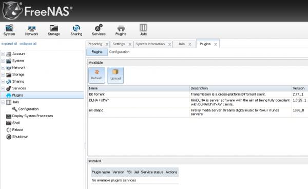 FreeNAS | LinuxBSDos com