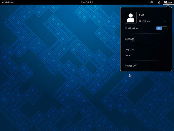Fedora 19 review GNOME 3 Desktop GNOME Shell