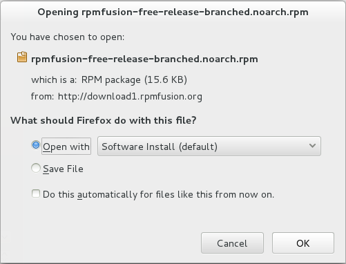 third-party repositories RPM Fusion Repo Fedora 19