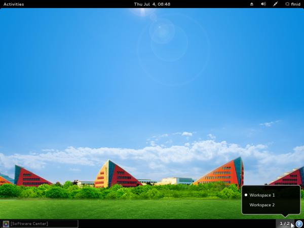 StartOS 6 GNOME 3 desktop