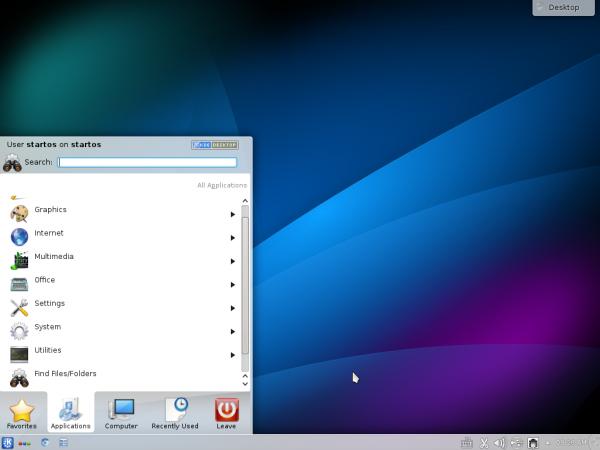 StartOS 6 desktop KDE