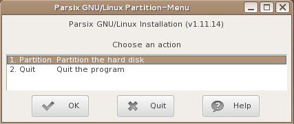 Parsix 5 installer Linux Debian