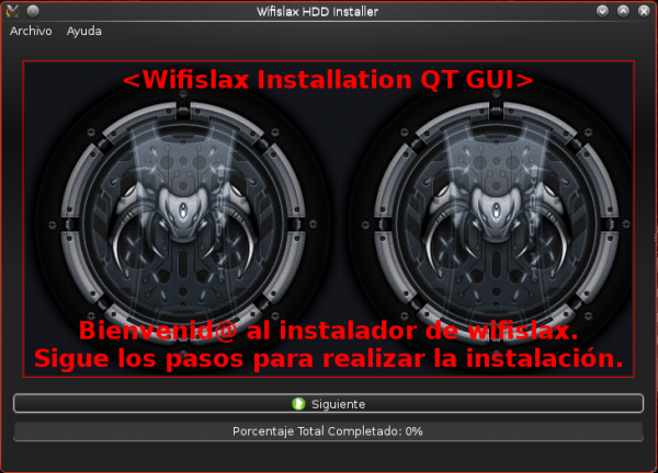 Wifislax wireless hacking Linux installer