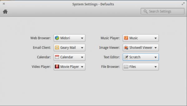 Elementary OS Luna default apps