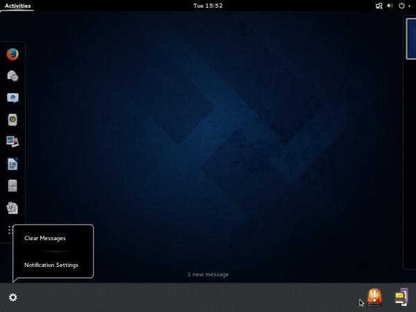 Fedora 20 GNOME 3 GNOME Shell