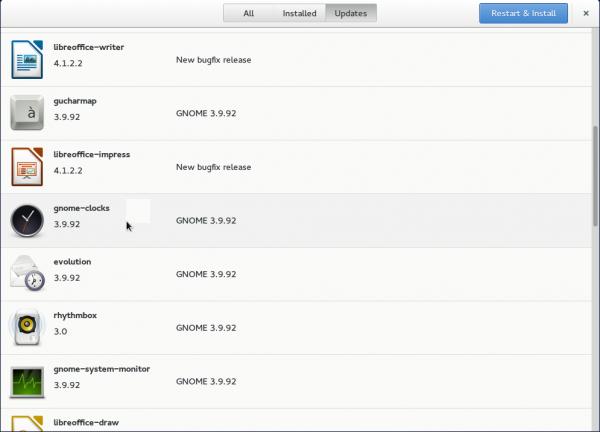 GNOME Software app updates GNOME Shell GNOME 3