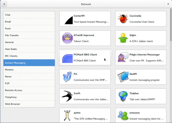 GNOME Software IM apps GNOME Shell GNOME 3