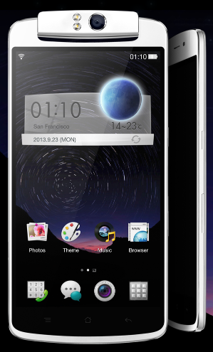 OPPO N1 CyanogenMod smartphone Android
