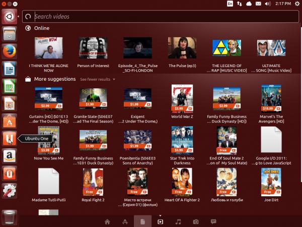 Ubuntu 13.10 Saucy Salamander Desktop