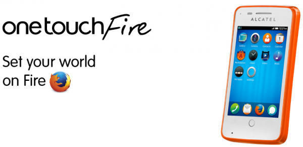 Firefox OS powers the Fireweb and Onetouch Fire