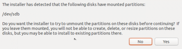 Ubuntu 13.10 warning