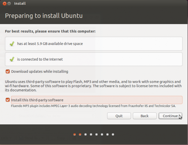Ubuntu 13.10 install requirements