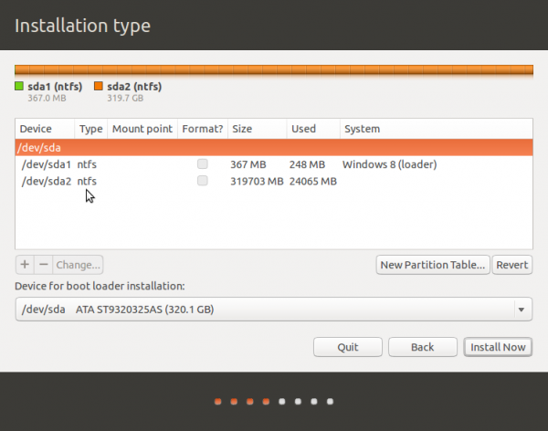 Ubuntu 13.10 advanced Partition guide