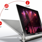 Yoga tablet is Android-powered and delivers up to 18 hours of juice