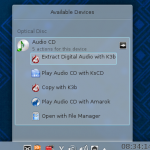 Use K3b and Audacity to convert an 8-CD audiobook