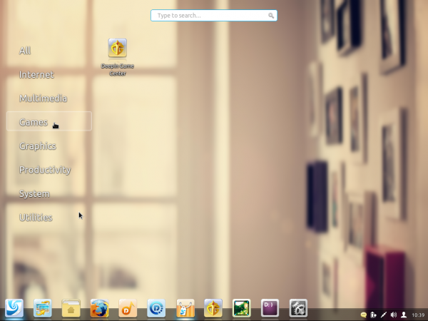 Linux Deepin 2013 game apps