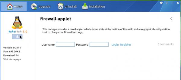Install Firewalld Linux Deepin 2013