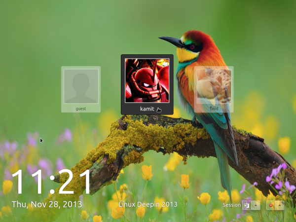 Linux Deepin 2013 screen shot tour