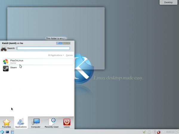 SolydXK KDE 2013.11 Desktop