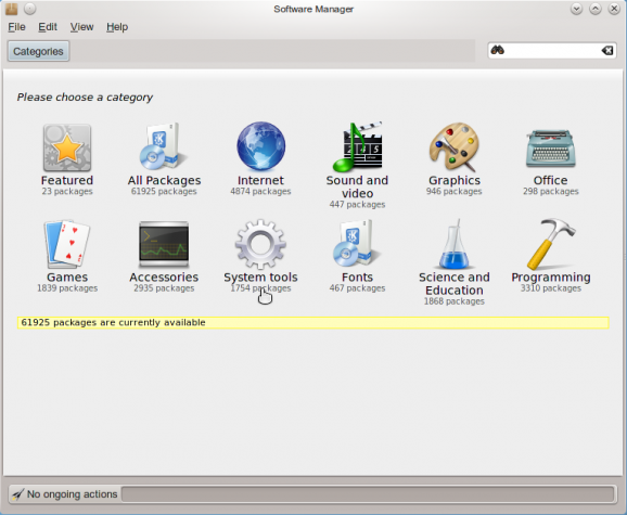 SolydXK KDE 2013.11 Software Manager