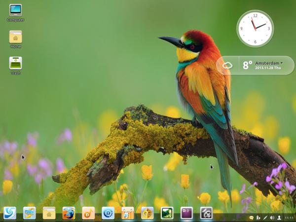 Linux Deepin 2013 Desktop
