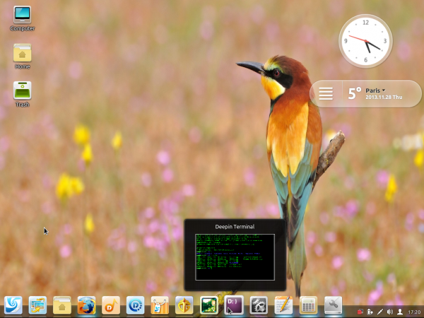 Linux Deepin 2013 Desktop wallpaper