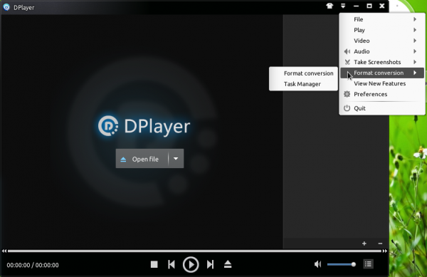 Linux Deepin DPlayer media app