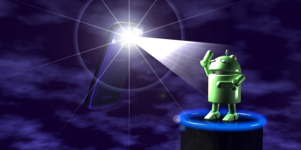 Android Brightest Flashlight app
