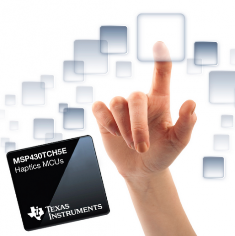 New MCUs from TI bring Haptics to the fingertips of Joe Developer