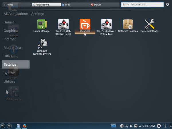 Netrunner 13.12 Desktop Homerun