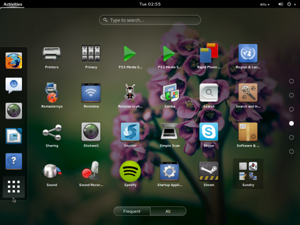 Pinguy 13.10 GNOME 3 apps