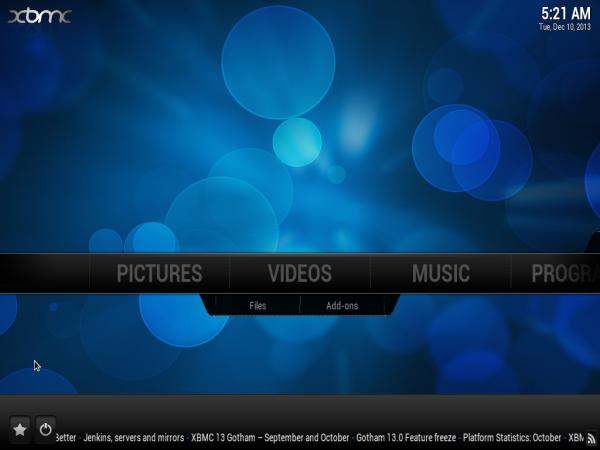 PinguyOS 13.10 XBMC