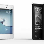 YotaPhone. Always-on dual screen, thicker than most, bu