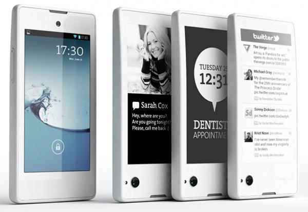 YotaPhone dual screen smartphone
