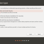 An attempt to dual-boot Ubuntu 13.10 and Windows 8 on a Len