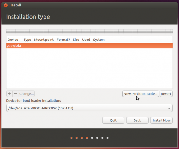 Partition new hard disk drive linux