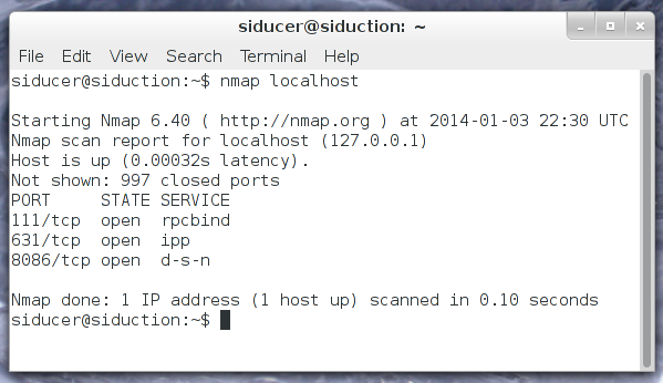 Siduction port 8086