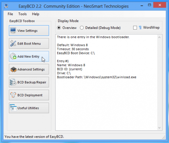 EasyBSD Windows 8