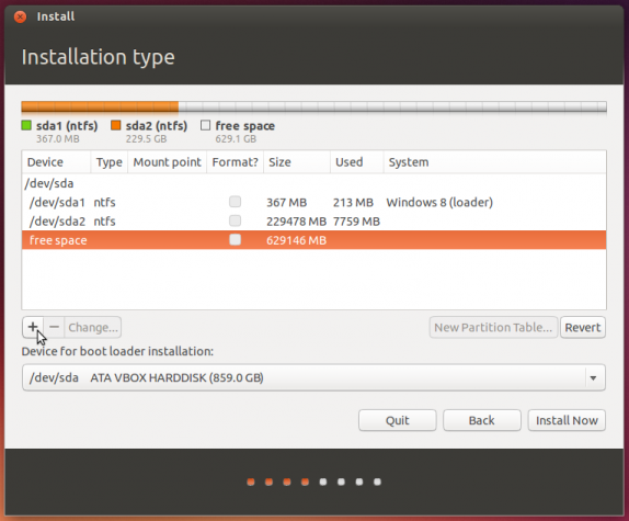 Ubuntu 13.10 advanced partitioning tool