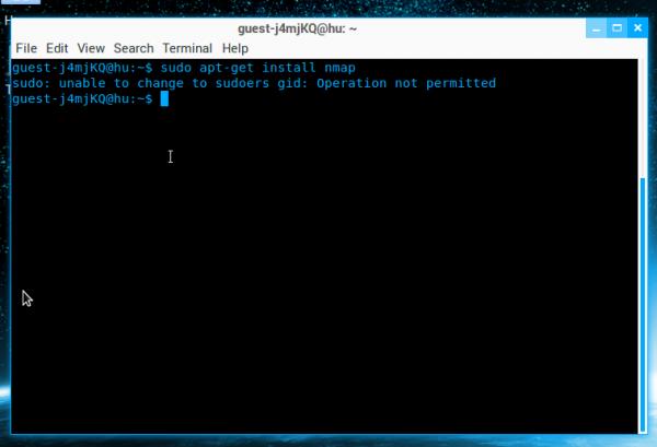 Zorin OS 8 sudo error