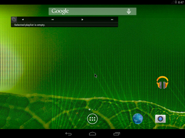 Android-x86 4.4 home page