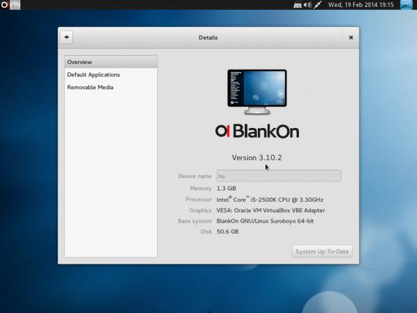 BlankOn 9.0 GNOME 3 desktop