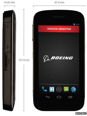 Boeing Black Android smartphone will self-destruct if tampered with