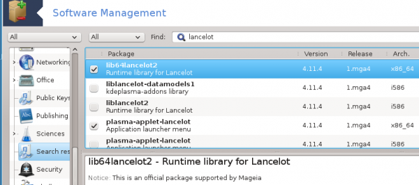 Lancelot installation applet